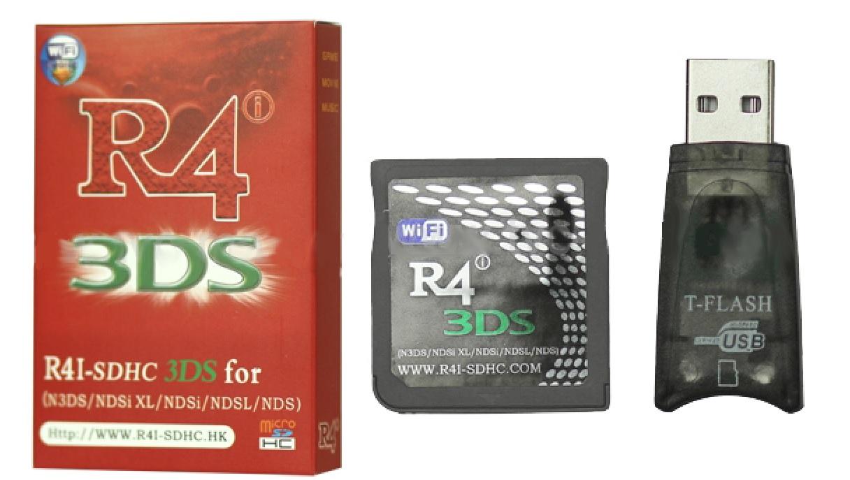 Nintendo R4 Cards : R4i-SDHC 3DS Upgrade Revolution for 3DS/NDS/NDSL