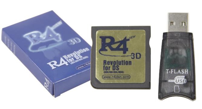 Nintendo R4 Cards : R4 3D Revolution for 3DS/DSi/DSL/NDS (713)